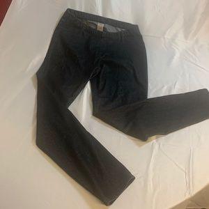 Faded Glory skinny jeans in black LG 12-14